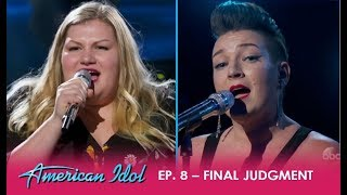 Effie Passero vs Maddie Zahm: Two Great Artists But Who Will Make It The Finals | American Idol 2018