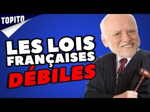 Top 5 des lois débiles encore en vigueur en France