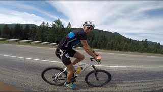 Vlog3. Семинский перевал, велотренировки, интервальная имитация, шведский стол, Алтай.