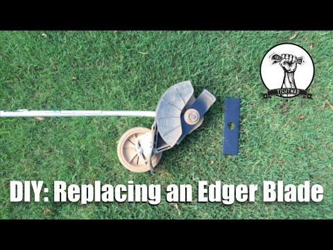 DIY: Replacing Edger Blades