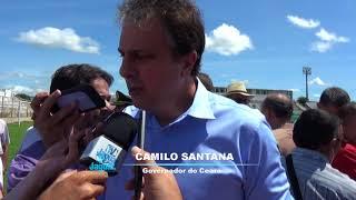 Camilo Santana - Inauguração do BP Raio em Morada Nova