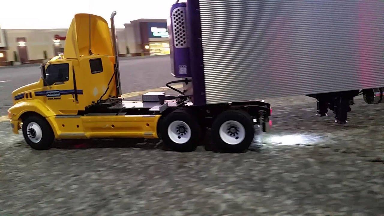 Custom Penske Rental Tractor In Scale 1 14 Youtube