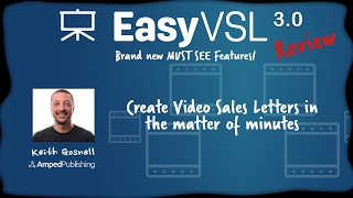 EasyVSL 3.0 Review - Create Video Sales Letters In Minutes