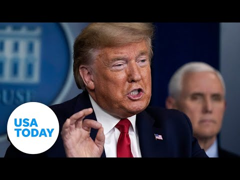 President Trump and Coronavirus Task Force provide update, Saturday, April 18 | USA TODAY