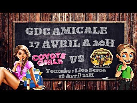 Clash of clan GDC amicale Coyote Girls vs La petite école