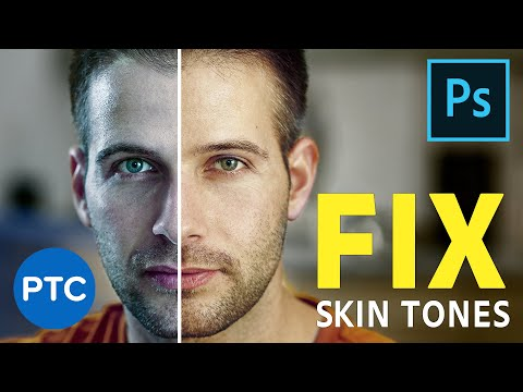 Fix Skin Tones in Photoshop