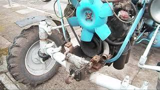 oprava chladiče motoru Zetor