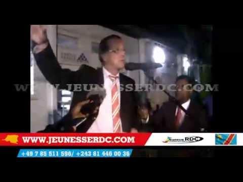 Lamber Mende abengani Monusco na Kongo Expo