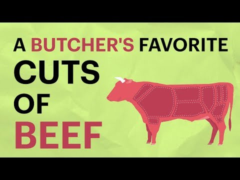 A BUTCHER'S FAVORITE CUTS OF BEEF