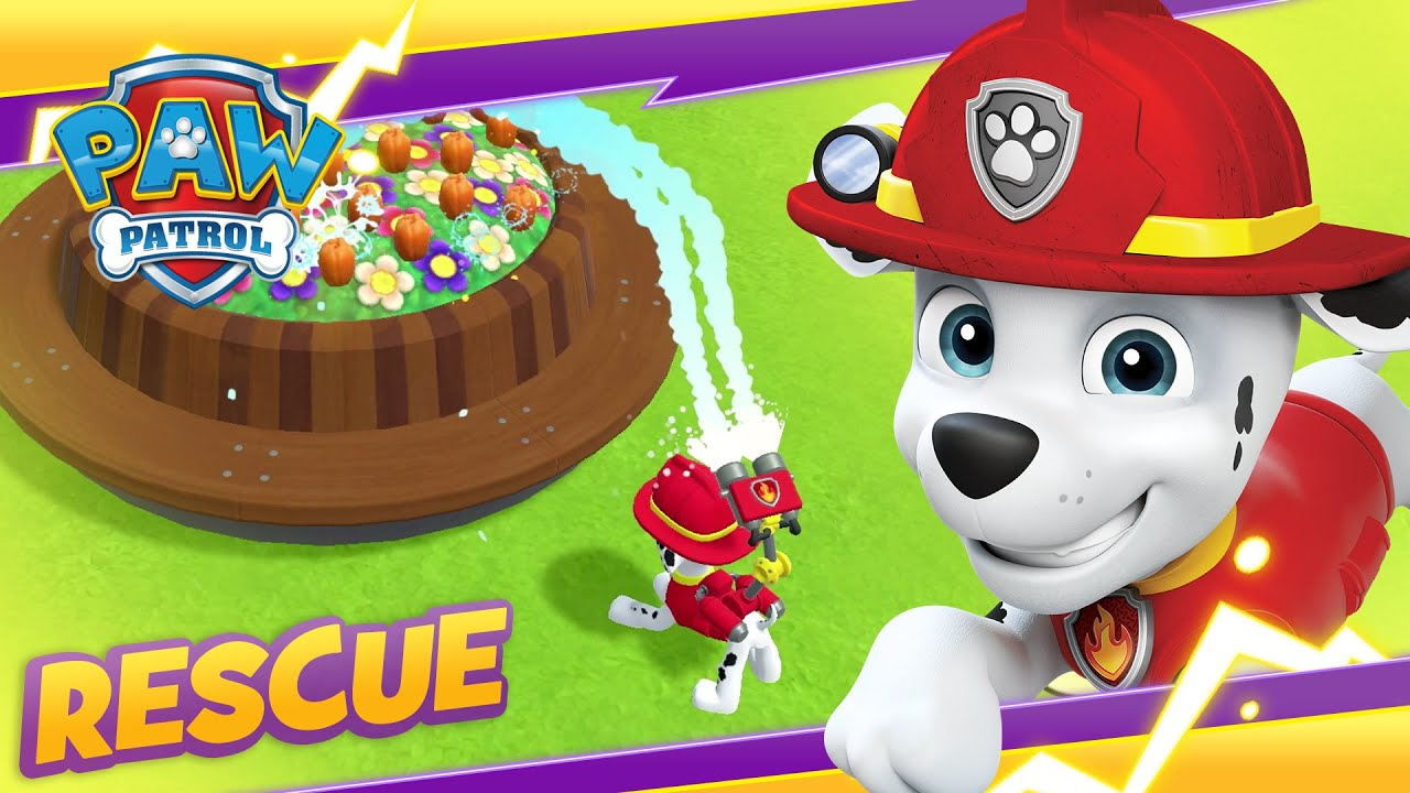 PAW Patrol Mighty Pups Find the Hiding Chickaletta! 🐔 Cartoon and Game Rescue