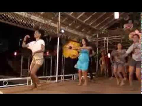 Tamure Dancers from Easter Island at the Honiara Hotel