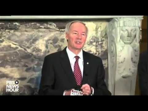 Ark. Gov. Asa Hutchinson says he will not sign state 'religious freedom' bill without changes