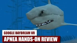 Underwater Stealth for Daydream VR! Check out our Apnea Hands-On Review