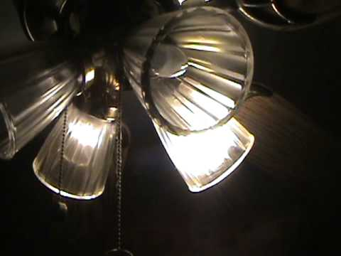 Harbor Breeze Moon Glow Ceiling Fan Youtube