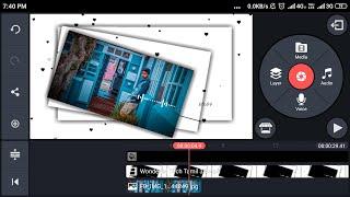 Kinemaster Tutorial - Block Colour Heart Layer Editing in | Tamil