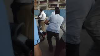 Traffic police rude with the women at Kodigehalli gate
