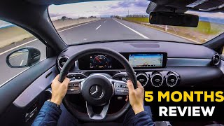 MERCEDES A CLASS 2019 5 MONTHS OWNER'S REVIEW POV