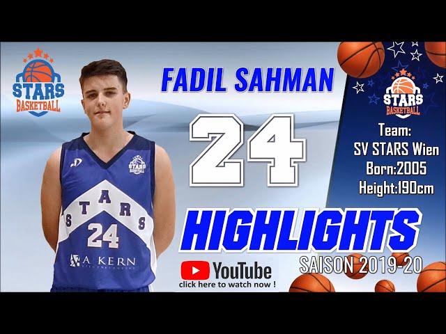 Stars Highlights Factory : FADIL SAHMAN Saison 2019-20