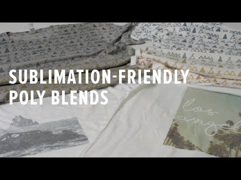 aa3e9e0b5 Sublimation Printing on Poly Blends: Everything You Need to Know - YouTube