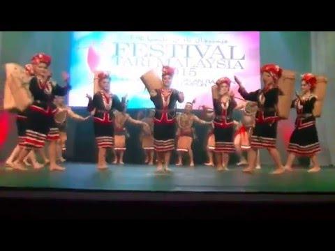 Festival Tari Malaysia 2015 - Sanggar Budaya Miri