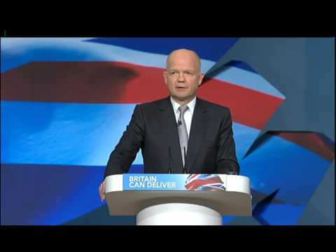 William Hague on the ongoing crisis in Syria