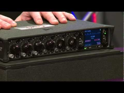 Sound Devices 664 6in/4out Field Production Audio Mixer Overview | Full Compass