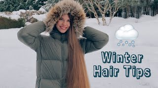 WINTER HAIRCARE TIPS Healthy Hair In COLD Weather