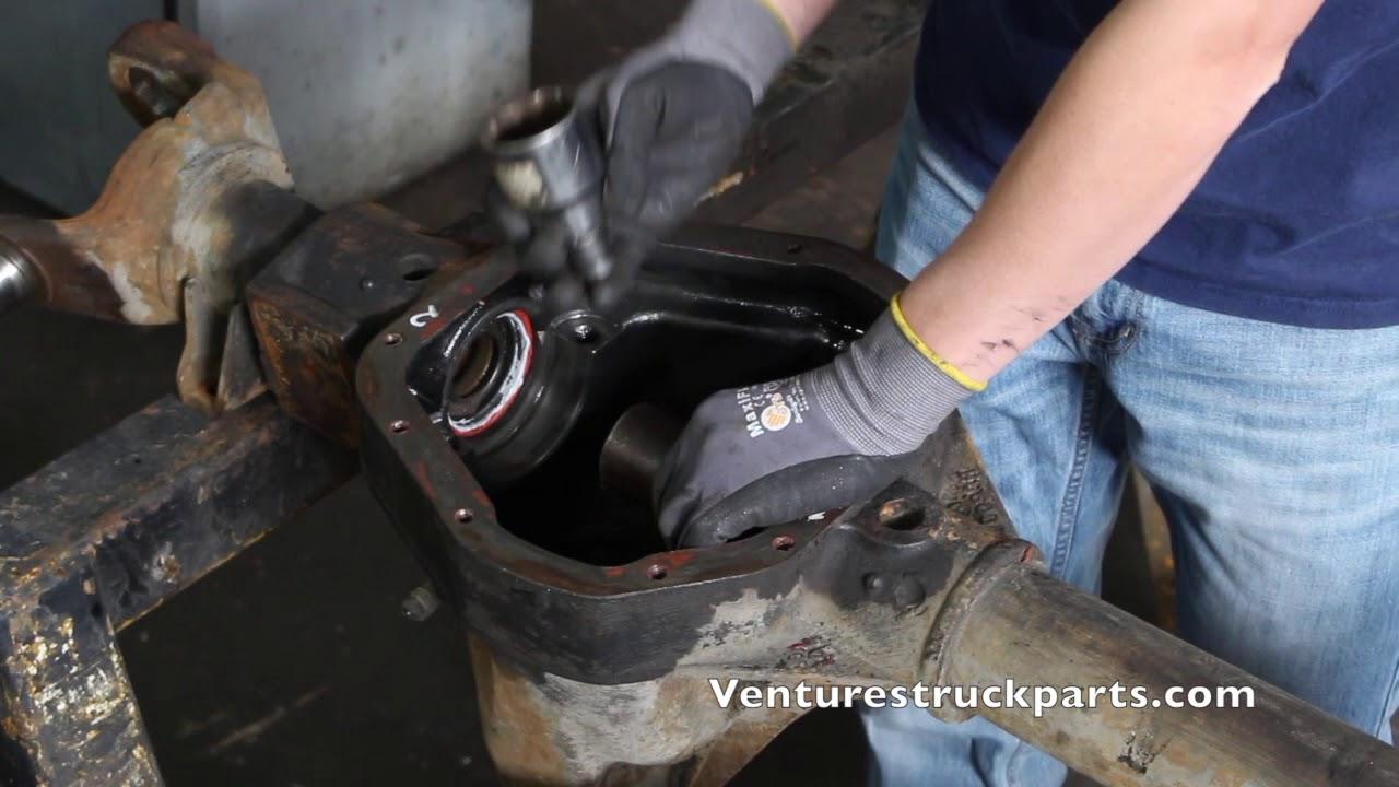 Installing Or Replacing Inner Tube Seal Dana 44, Dana 50, Dana 60 Etc Front  Axle