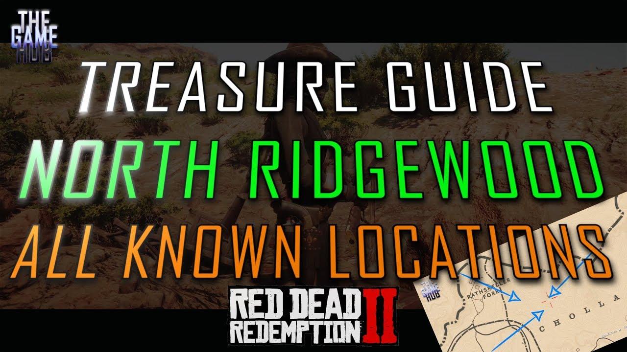 North Ridgewood Treasure Map ALL Locations - Red Dead 2 Online