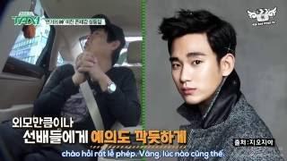 [Vietsub] [Taxi 14.06.2016]  Sung Dong Il talks about Kim Soo Hyun
