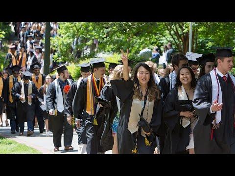 University of Richmond Class of 2017 Graduation Day