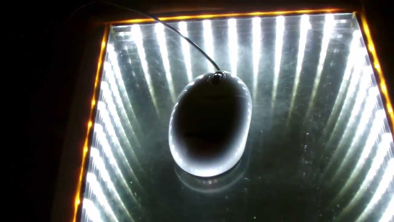Infinity Mirror Mousepad Youtube