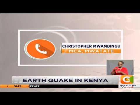 Earthquake measuring 4.8 hits parts of Kenya