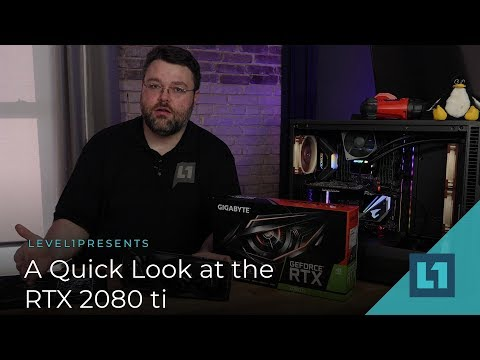 A Quick Look at the RTX 2080ti
