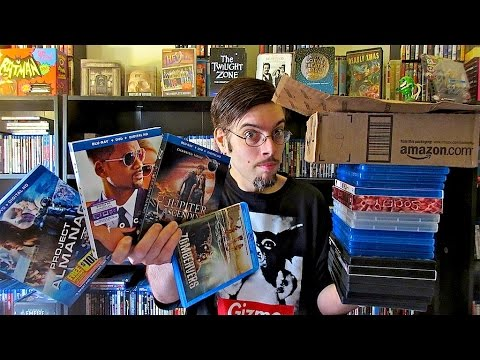 Amazon Unboxing - Blu ray/DVD Collection Update