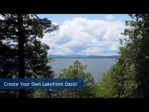 Waterfront Land For Sale On Lake Champlain In Ferrisburgh | Vermont Real Estate