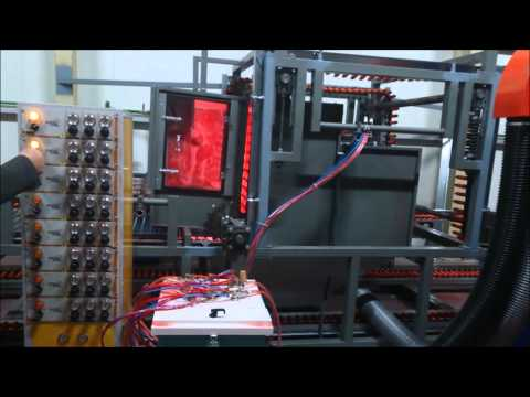 FULL AUTOMATIC CLEANING MOP HANDLE POWDER COATING SYSTEM