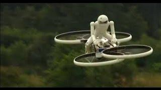Новый Транспорт Летающий Мотоцикл