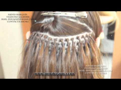 Extensiones Cabello Muy Corto Nieves Marques Youtube