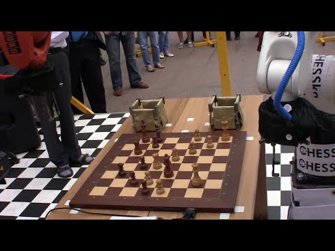 ROBOT Vs ROBOT (Exciting Chess)