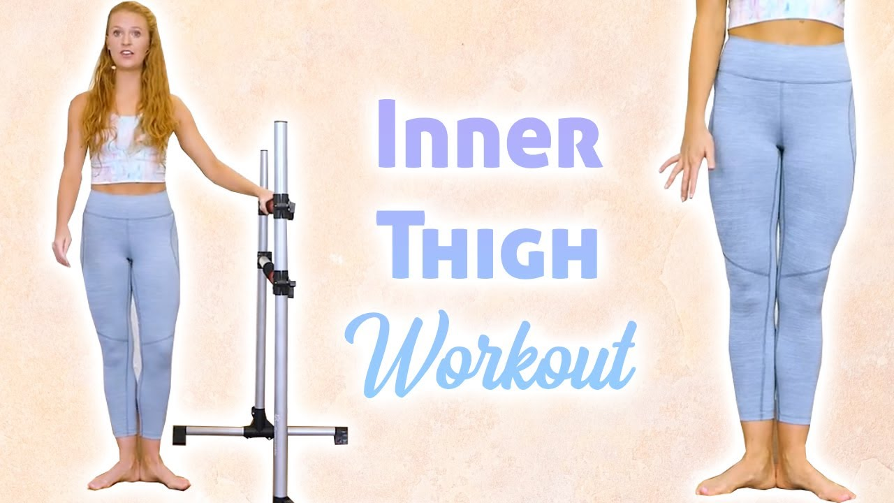 10 Min Barre Workout: Inner Thighs, Lean Legs, Barre Fitness Routine, Ballet Exercises, Banks Method