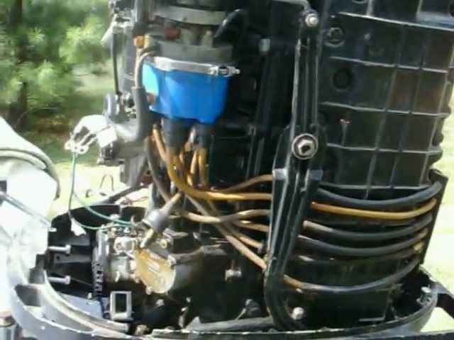 1976 Mercury 1150 Inline 6 Tower Of Power Overhaul Disassembly Part 1 Youtube