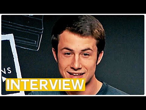 13 Reasons Why S2 - Dylan Minnette doesn't cry!