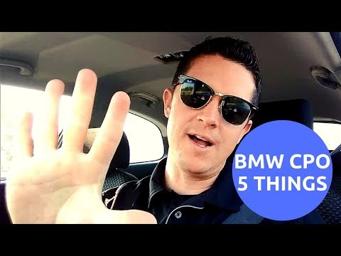 What Is A BMW Certified Pre-Owned? 5 Things You NEED To Know In 2018