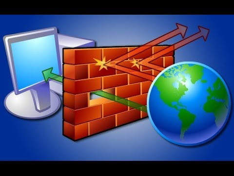 Отключение брандмауэра Windows XP