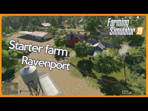 FS19 - Best Starter Farm For Ravenport - Timelapse