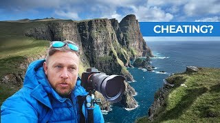 Are We Cheating at Landscape Photography in the Faroe Islands