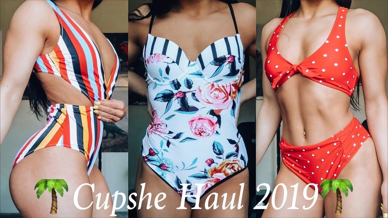 0f55bbc92f8 SPRING BREAK READY | Cupshe Swimsuits 2019 HAUL - YouTube