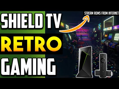 🔴RETRO GAMING ON NVIDIA SHIELD
