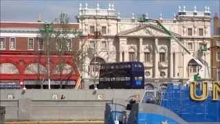 Knight Bus at Diagon Alley Universal Studios Florida Construction Update 4/11/14